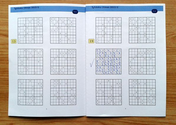 TeXdoku booklet - solving